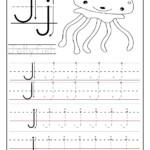 Printable Letter J Tracing Worksheets For Preschool