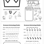 Printable Sermon Listening Worksheets For Kids | Sermon