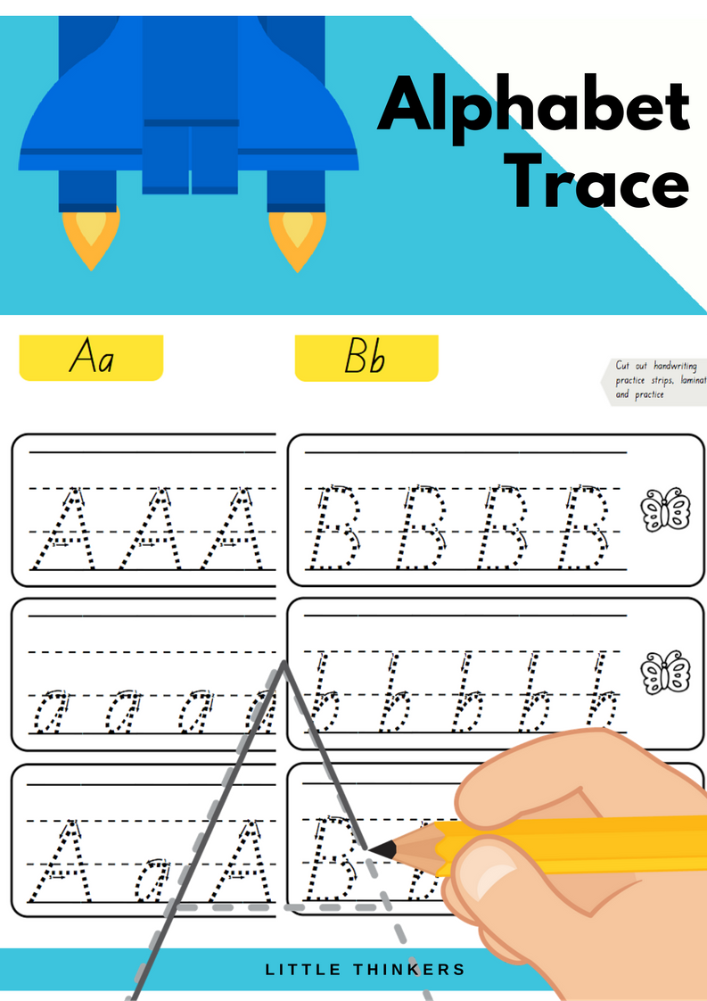 Queensland Beginners Font | Alphabet Practice, Handwriting