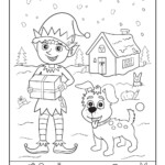 Santa's Helpers Christmas Hidden Picture Page | Woo! Jr