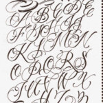 Tattoo Lettering Cursive Styles And Make Your Tattoos