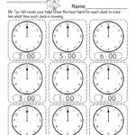 Telling Time Worksheet - Free Printable, Digital, & Pdf