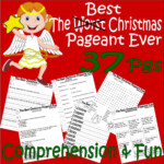 The Best Christmas Pageant Ever : Comprehension Book