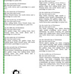 The Twelve Days Of Christmas ( Lyrics) - English Esl