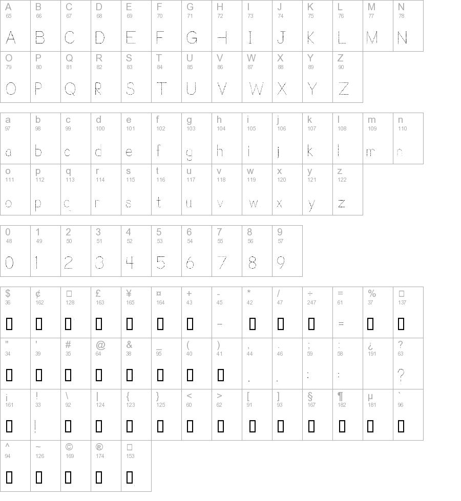 Trace Font For Kids Regular Truetype Font