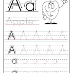 Trace Letter A Sheets To Print | Tracing Worksheets