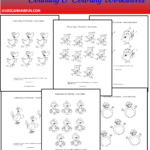 Twelve Days Of Christmas Counting & Coloring Worksheets Http