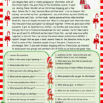 What A Great Christmas I Had / Christmas Reading - English