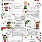 What Did You Do For Christmas? - Esl Worksheetmena22