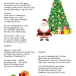 When Santa Was A Boy Worksheet
