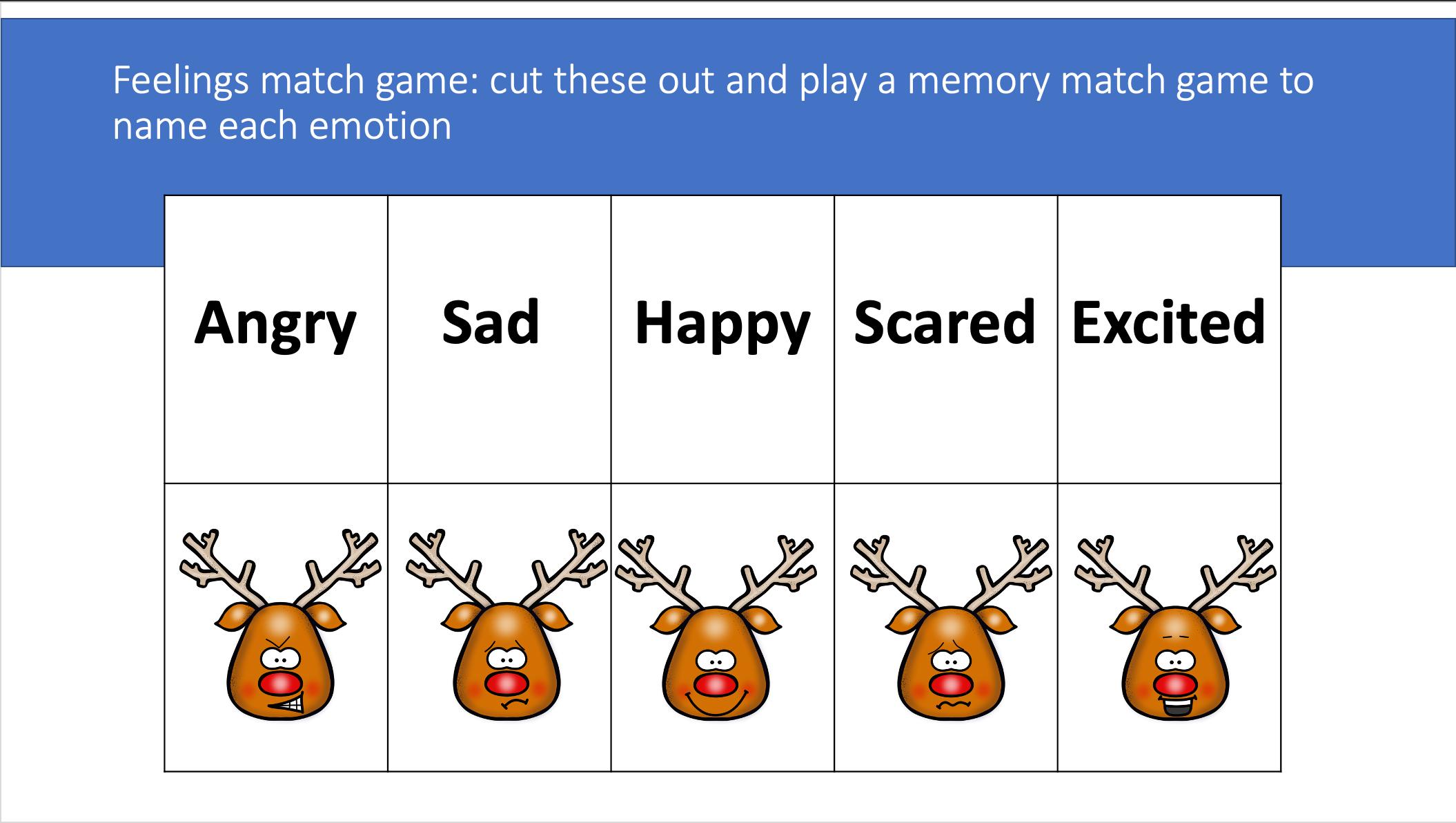 Wild Christmas Reindeer Language, Literacy And Aac Set