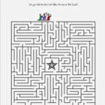 Wise Men Find Jesus Maze   Christmas Sunday School Lessons