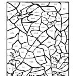 Worksheet ~ Freee Multiplication Coloring Worksheets