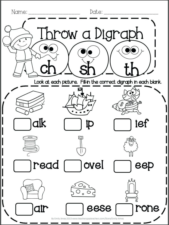 Worksheet ~ Frees For Children Kids Grammar Printable