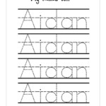 Worksheet ~ Nameacing Sheets Generator For Preschool Line
