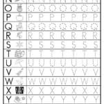 Worksheet ~ Worksheet Awesome Alphabet Tracing Sheet