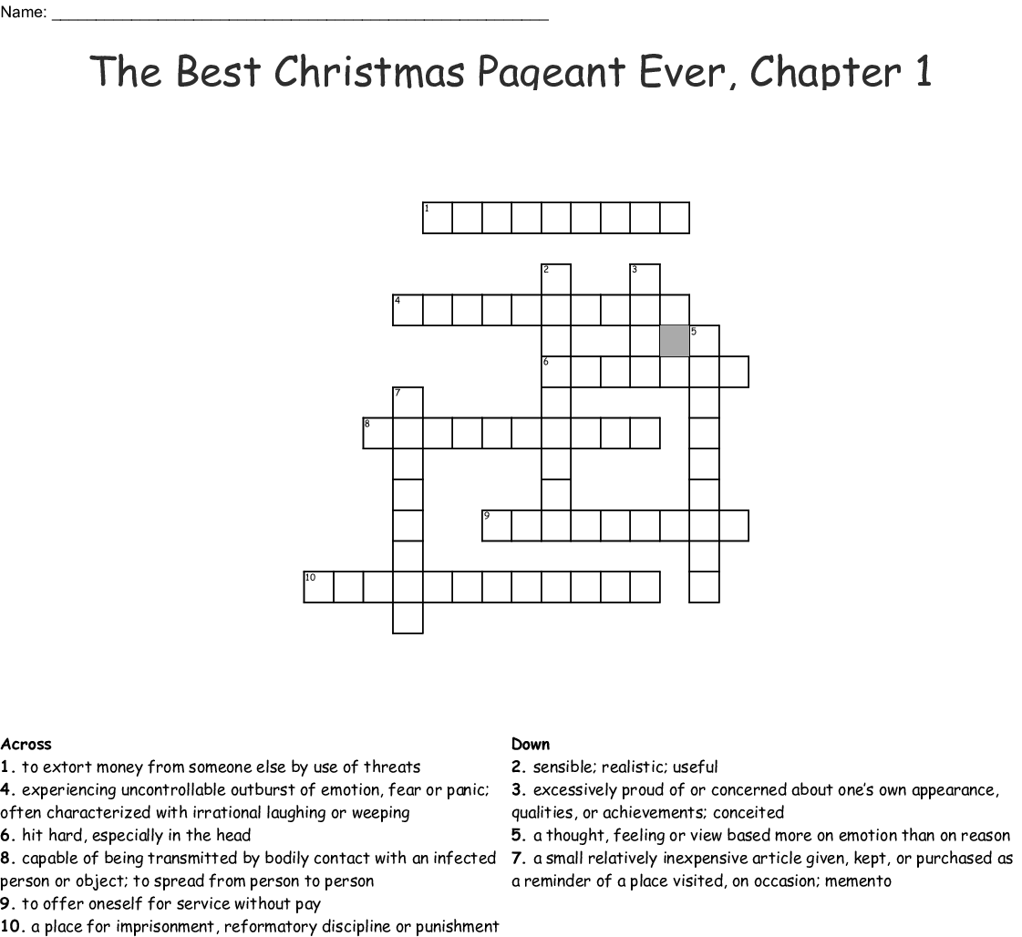 Worksheets For The Best Christmas Ever | Printable