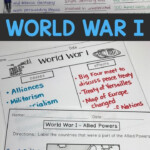 World War 1 Activities | Tpt Digital Activity Distance