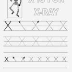 X Letters Alphabet Coloring Sheet   Printable Alphabet