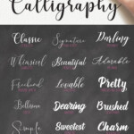 16 FREE Calligraphy Fonts For Your Next Creative Project