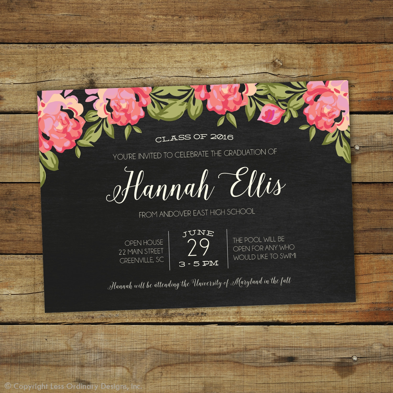 19 Graduation Party Invitation Designs And Examples PSD