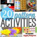 20 Awesome Pattern Activities For Preschoolers From ABCs