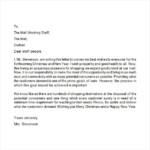 20 Sample Christmas Letters Sample Templates