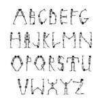 9 Best Printable Scary Letters Printablee