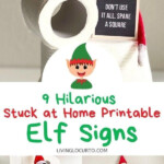 9 Hilarious Stuck At Home Elf Letter Boards Funny Elf