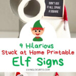 9 Hilarious Stuck At Home Elf Letter Boards Holiday