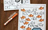 A To Z Letter Find Free Printable Alphabet Worksheets