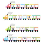 Alphabet Train Worksheet Train Activities Alphabet