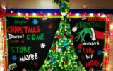Christmas Grinch Dr Seuss High School Bulletin Board
