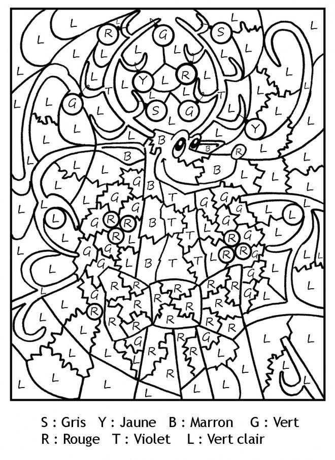 Coloriage Magique Lettres Gratuit Imprimer Liste 20 40