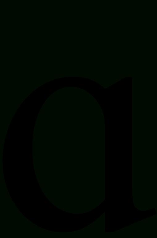 File Latin Lowercase Script A svg Wikimedia Commons