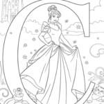 Free Easy To Print Cinderella Coloring Pages Tulamama