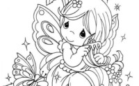 Free Easy To Print Fairy Coloring Pages Tulamama