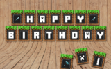 Free Minecraft Party Printables Pack Clip Art Party