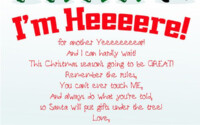 Free Printable Elf On The Shelf Arrival Letter Elf On