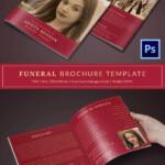 Funeral Program Template 23 Free Word PDF PSD Format
