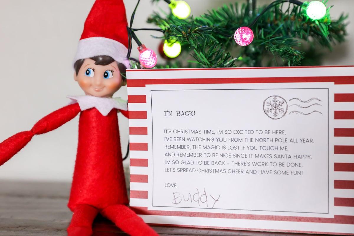 FUNNY Elf On The Shelf Ideas FREE Printables Lil Luna