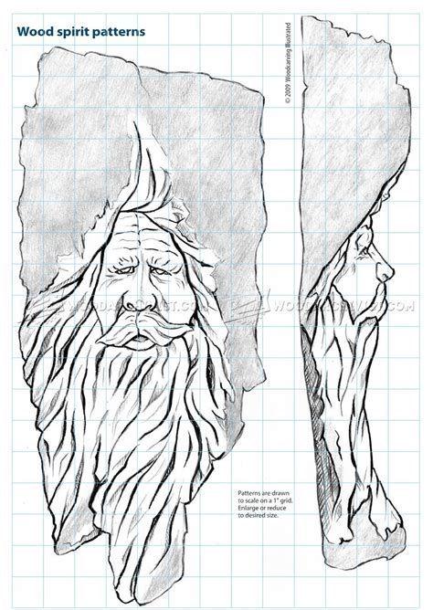 Image Result For Wood Spirit Stencil Wood Carving Art