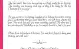 Kids Letters To Santa Enjoy Christmas With Santa Claus
