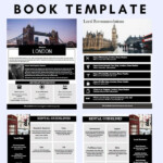 LONDON Welcome Book England Guest Book Airbnb