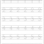 Number Handwriting Worksheets Handwriting Worksheets For