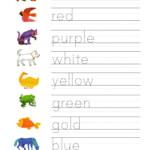 Penmanship colours png 2 480 3 508 Pixels Actividades De