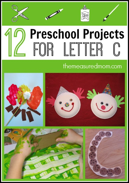 Preschool Art Projects Simple Crafts For Letter C The