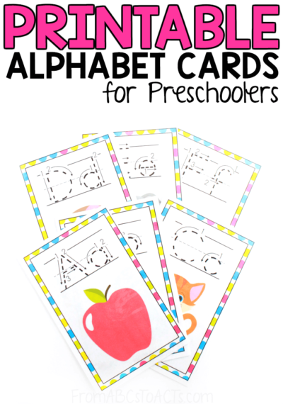 Printable Alphabet Wall Cards From ABCs To ACTs