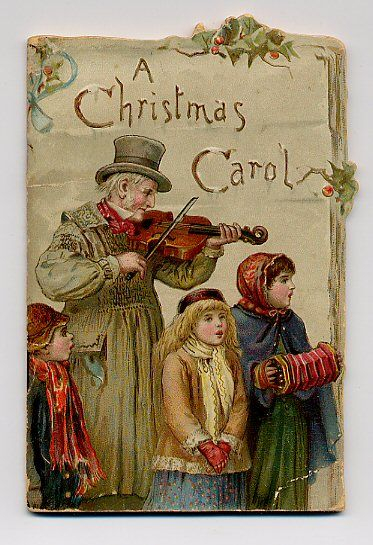 This Christmas Card Depicting A Scene From A Christmas