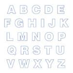 10 Best Big Printable Cut Out Letters Printablee